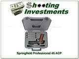 Springfield Professional Custom Shop made 1911 Exc Cond! - 1 of 4