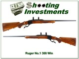 Ruger No.1 B Red Pad 300 Win Mag nice!