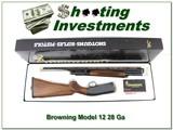 Browning Model 12 28 Ga New in BOX!