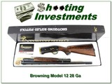 Browning Model 12 28 Ga High Grade New in BOX!