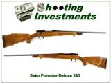 Sako L579 Forester Deluxe in 243 Win Bofors steel!
