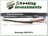 Browning 1886 26in Octagonal rifle 45-70 New in BOX!