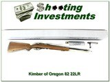 Kimber of Oregon Model 82 Classic 22 unfired and New in BOX!
