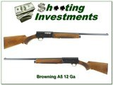 Browning A5 Light 12 71 Belgium Honey Blond 26in IC