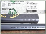 Browning 22 Auto 100 Year 22 LR Octagonal High Grade only 100 made! - 4 of 4
