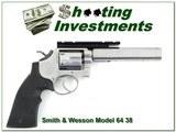 Smith & Wesson Model 64 no dash 38 Special custom Bulls Eye gun! - 1 of 4