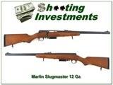 Marlin Model 512 Slugmaster 12 Ga 3in UNFIRED as NEW!