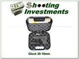 Glock 29 Gen 3 10mm unfired in case 2 10r mags!
