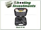 Glock 41 Gen 4 45 ACP unfired in case, 3 13r mags!