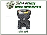 Glock 36 Gen 3 45 ACP unfired in case, 2 6r mags!