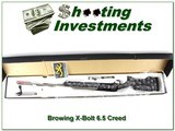 "Browning X-Bolt Target TGTA3 6.5 Creedmoor 4+1 28"" Urban Carbon Ambush Camo"