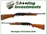 Remington 742 Woodsmaster Carbine 30-06 Win made in 1969!