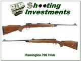 Remington 700 BDL 7mm Rem 1974 Exc Wood grain!