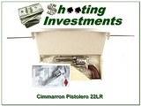 Cimarron Pistolero 4.75in stainless 22LR NIB