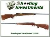 remington 700 varmint special 1967 made 22 250 collector condition!