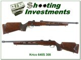 krico 640s sniper rifle in 308 win made in west german