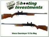 Ithaca Model 87 Featherlight Deerslayer 12 Ga 3in 24in rifled