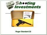 Ruger Mark 1 Standard 22LR 6 in unfired in box!