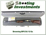 Browning BPS 1984 Ducks Unlimited 12 Ga XX Wood in case