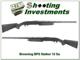 Browning BPS Engraved Magnum 12 Ga Stalker 28in near new