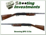 Browning BPS Engraved 22in Upland Special 12 Gauge!