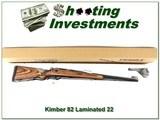 Kimber of Oregon Model 82 22 rare Laminate New in BOX!