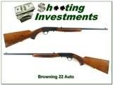 Browning 22 Auto 63 Belgium 22LR