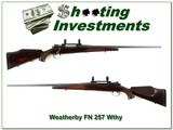 Weatherby FN 1956 made 257 Weatherby collector! - 1 of 4