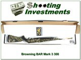 Browning BAR Mark 3 308 Win Camo NIB!
