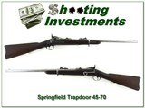 US Springfield 1873 Trapdoor rare original carbine made in 1875 one of only 499 made!