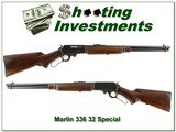 Marlin 336 RC 1950 made waffle top 32 Special!