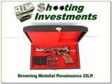 Browning Renaissance Medalist 72 Belgium 22 LR unfired in case!