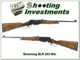 Browning BLR 243 first model machined steel receiver!