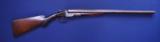 Colt Model 1883 10 Gauge Shotgun
