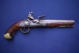 Contract British Light Dragoon Flintlock Pistol by Brander