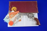 Colt Custom Shop SAA 3rd Gen .44-40 Nickel Model P1941