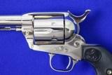 Colt SAA 3rd Gen 38-40 Nickel Model P3841 - 3 of 11