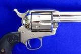Colt SAA 3rd Gen 38-40 Nickel Model P3841 - 7 of 11