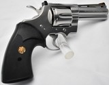 """Colt Python 4"""" 1986 Stainless - 3 of 4"""