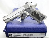 Colt Wiley Clapp Commander STAINLESS .45 ACPO4040WC Brand New 1911 Talo Exclusive