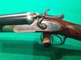 Joseph Needham English 16 gauge hammer s x s shotgun - 4 of 15