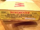 Winchester Model 61 Mag Factory Engraved NIBExtremely RARE - 3 of 9