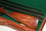 Parker Reproduction DHE 3 Barrel Set 28ga/28ga/.410 Single trigger beavertail - 1 of 7
