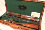 Parker Reproduction DHE 3 Barrel Set 28ga/28ga/.410 Single trigger beavertail - 3 of 7