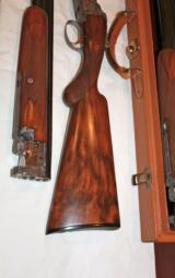 Browning Grade V Superposed 2 barrel setRKLT Funken Engraved - 4 of 7