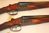 Churchill Regal Scalloped BLE12ga28in Pair#1#2Cased New condition