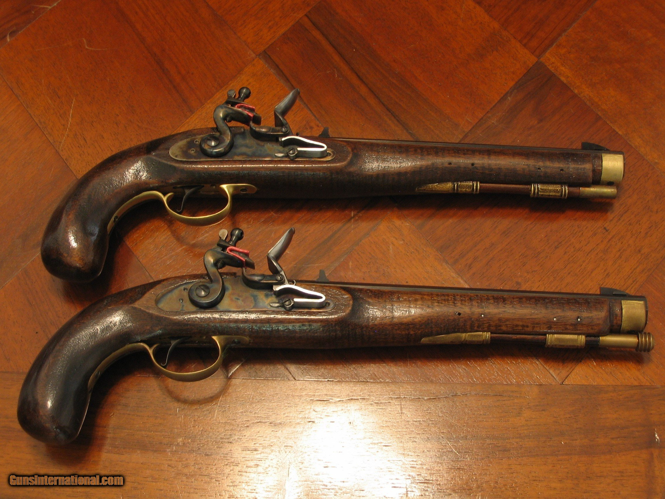 Antique Circa 1798 Flintlock 45 Cal