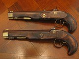 Antique Recreation of a ca.1845 English Gentleman`s .50 cal. Dueling Pistol Cased Set (Traditions) - 5 of 8