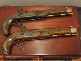 Replica .50cal. ca.1850 English Gentlemen`s Dueling pistol Cased Set - 4 of 8
