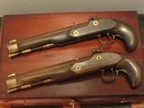Replica .50cal. ca.1850 English Gentlemen`s Dueling pistol Cased Set - 5 of 8